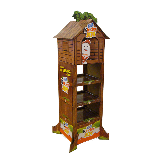 Floorstand Kinder Treehouse Modushelf