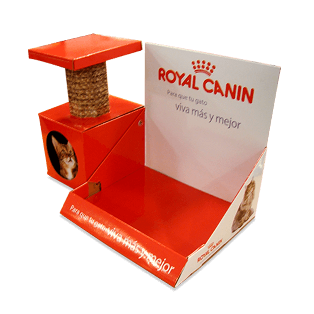 Display de mostrador RoyalCanin Rascador